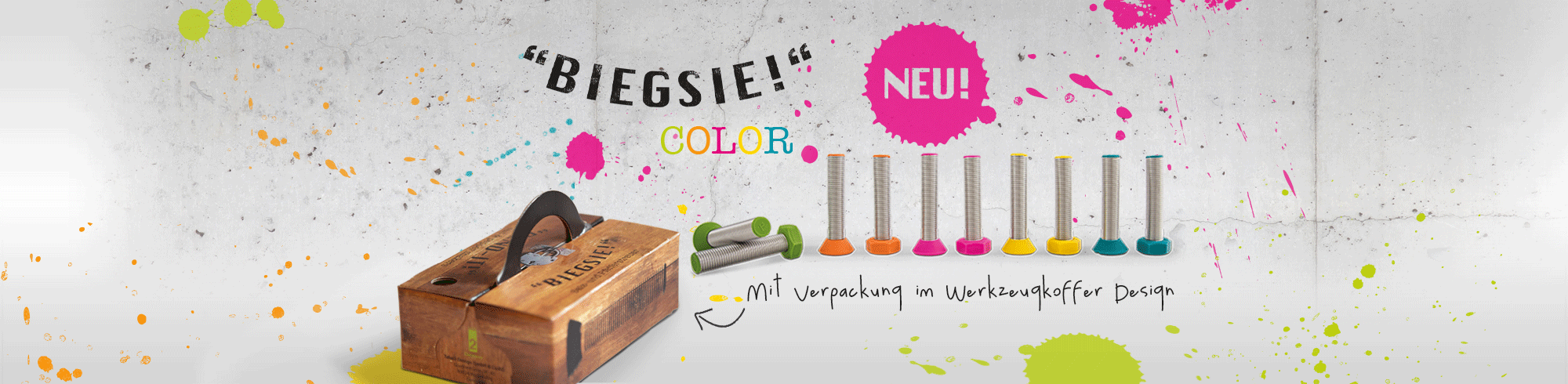 Biegsie Color Edition